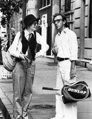 Diane Keaton and Woody Allen in United Artists' Annie Hall