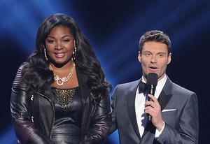 Candice Glover and Ryan Seacrest  | Photo Credits: Michael Becker / FOX