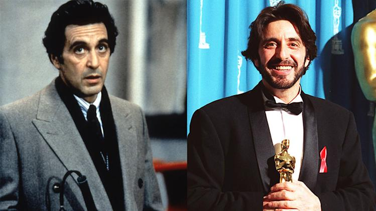 Al Pacino, Best Actor of 1992, 'Scent of a Woman'