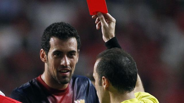 Champions League - Barcelona's Busquets to miss both Celtic matches
