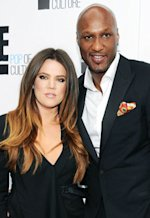 Khloe Kardashian Odom and Lamar Odom | Photo Credits: Dimitrios Kambouris/E/NBCU Photo Bank/Getty Images