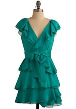 Modcloth.com kelly green dress, $79.99.