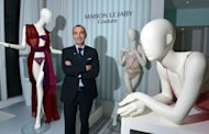 Maison Lejaby chief executive Alain Prost poses on December 7, 2012 in Paris during the presentation of the new lingerie collection Lejaby Couture
