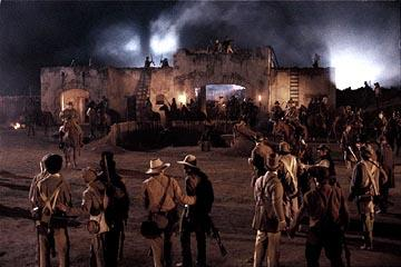 A scene from Touchstone's The Alamo