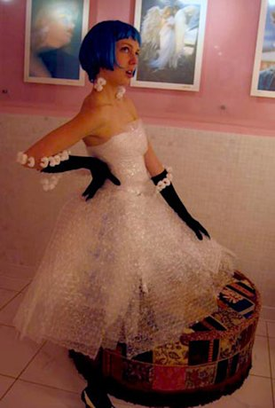 The Bubble Wrap Dress