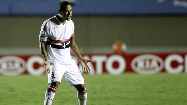 South American Football - Sao Paulo's Luis Fabiano loses appeal against ban