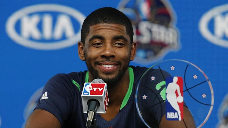 Irving validates All-Star starting nod, wins MVP