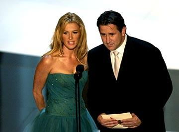 Poppy Montgomery, Anthony LaPaglia 55th Annual Emmy Awards - 9/21/2003
