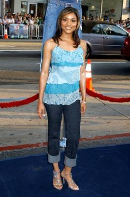 Erica Hubbard at the Hollywood premiere of Warner Bros. Pictures' The Sisterhood of the Traveling Pants