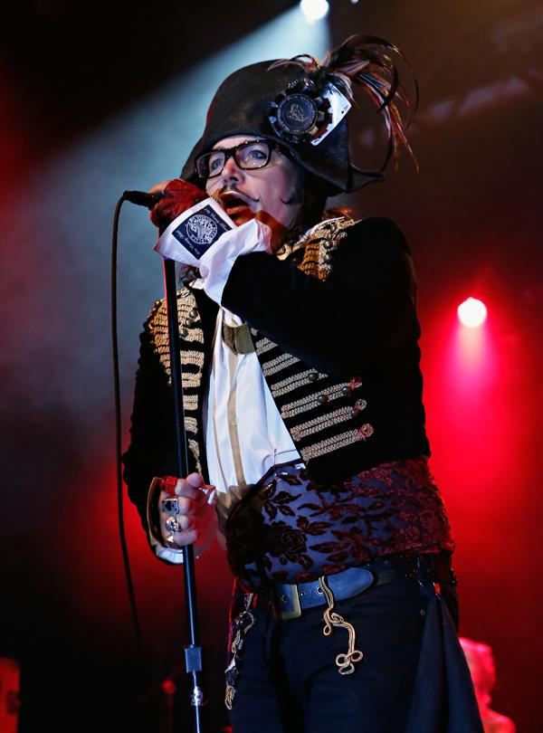 Adam Ant performs at the Best Buy Theater in New York City.