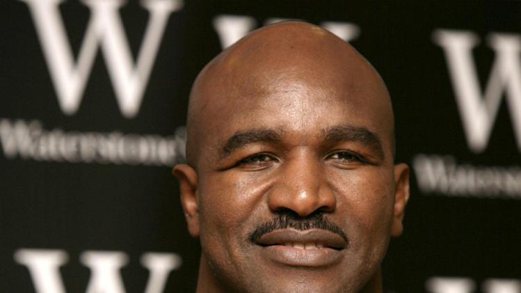 Boxing - Evander Holyfield File Photo