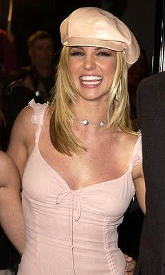 Britney Spears at the Hollywood premiere for Paramount's Crossroads
