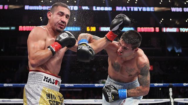 Boxing - Argentine Matthysse wants regular Vegas spot
