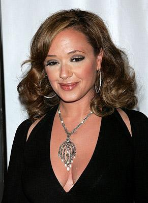 Leah Remini at the New York premiere of Picturehouse's El Cantante -7/26/2007 Photo: Jim Spellman, Wireimage.com
