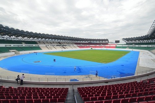 inside the philippine sports stadium our new football