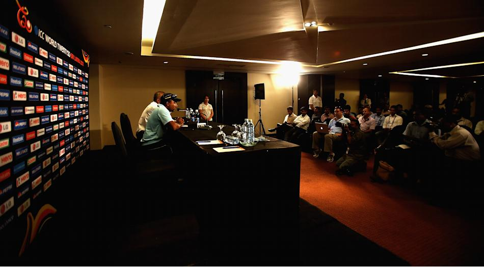 Sri Lanka Press Conference - ICC T20 World Cup