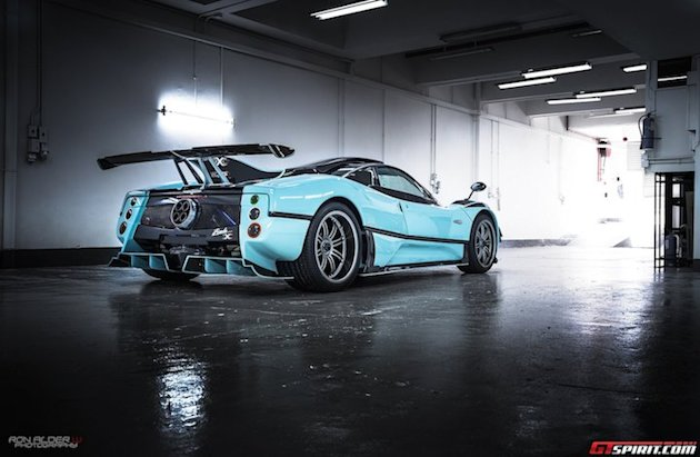 Pagani Zonda 760RSJX rearview photo