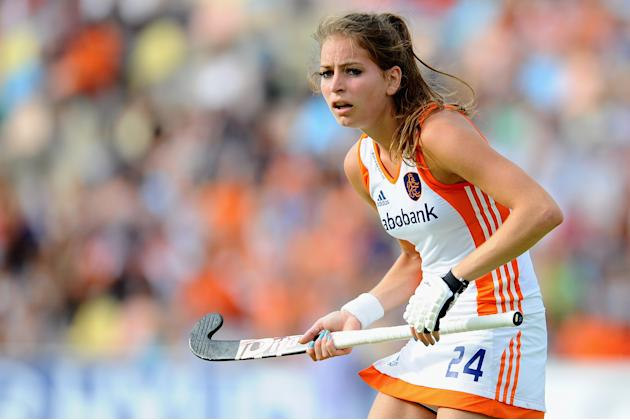 Spain v Netherlands - Women's EuroHockey 2011