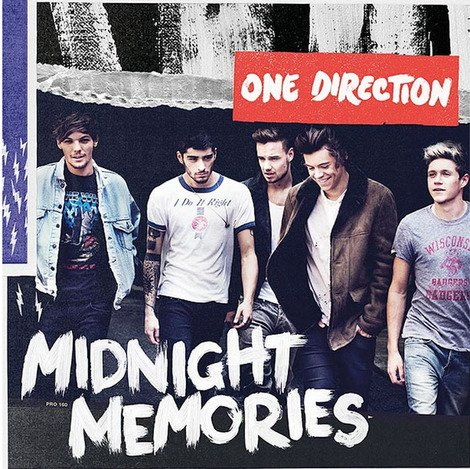 One Direction's Midnight Memories Is Biggest-Selling Album In the World = BRITS RULE!