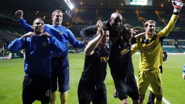 Scottish Football - Morton stun Celtic at Parkhead