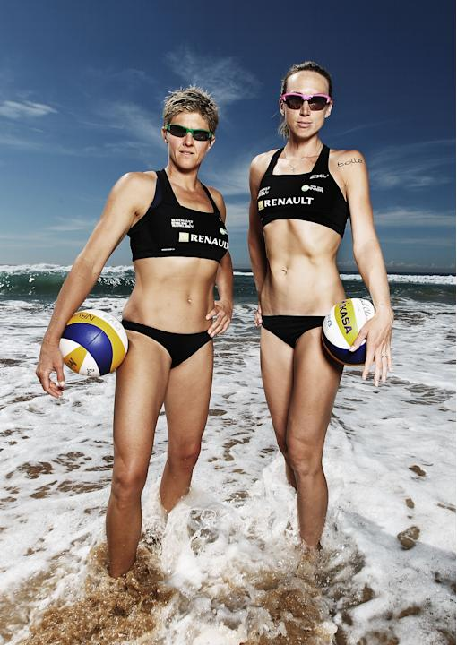 Australian Beach Volleyball Portrait Session