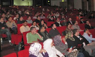 YDN developer event in Amman, Jordan, November 29, 2010, showing audience