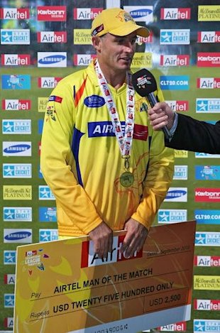 Chennai Super KIngs v Warriors - 2010 Champions League 20/20