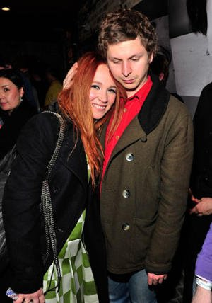 Juno Temple and Michael Cera on January 22, 2013 in Park City, Utah. (Photo by Jerod Harris/Getty Images for ChefDance)