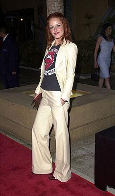Monet Mazur at the Hollywood premiere of Warner Brothers' Angel Eyes
