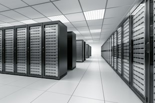 Tape is Still Alive, or at Least in Conversations and Discussions image SIO DataCenter Rows