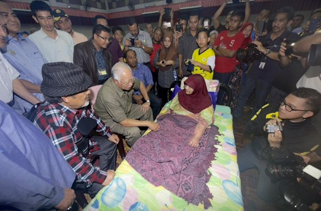 Najib struck with E coli infection