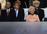 Britain Queen Elizabeth II, seen here next to International Olympic Committee (IOC) President Jacques Rogge (L) during the opening ceremony of the London 2012 Olympic Games