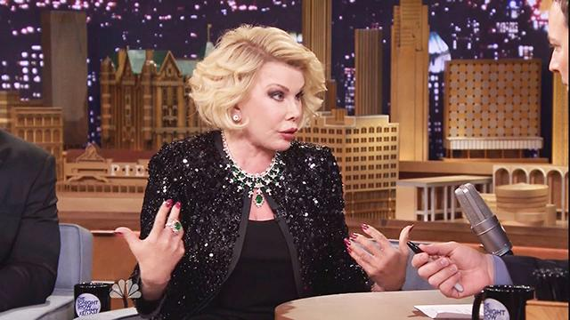 Joan Rivers's Historic Return to 'Tonight Show'