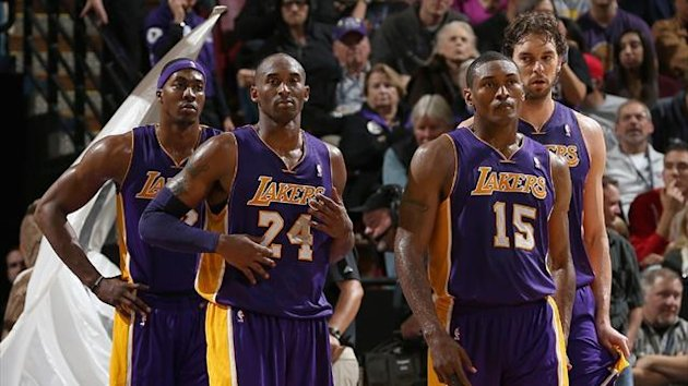 LA Lakers players (Reuters)