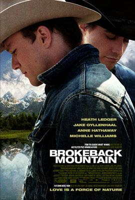 Heath Ledger and Jake Gyllenhaal star in Focus Features' Brokeback Mountain