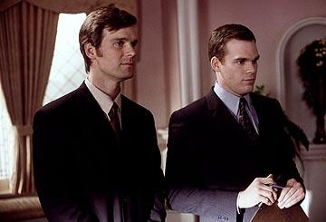 "Peter Krause and <a href=""/baselineperson/4426701"">Michael C. Hall</a> HBO's ""Six Feet Under"" Six Feet Under"
