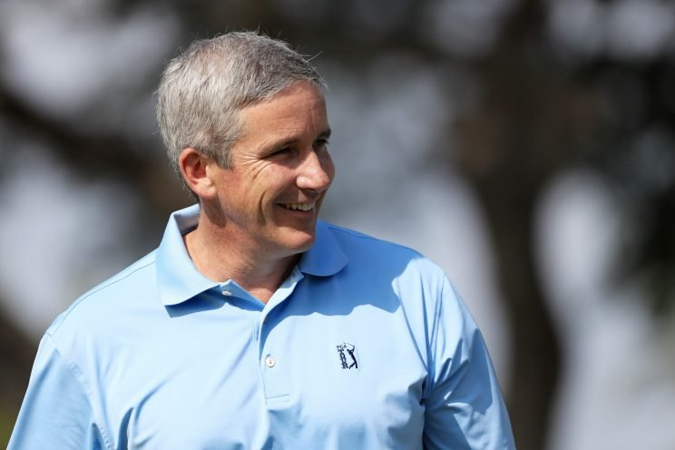 New PGA Tour commissioner Jay Monahan is diving into his new role head first (Getty Images)