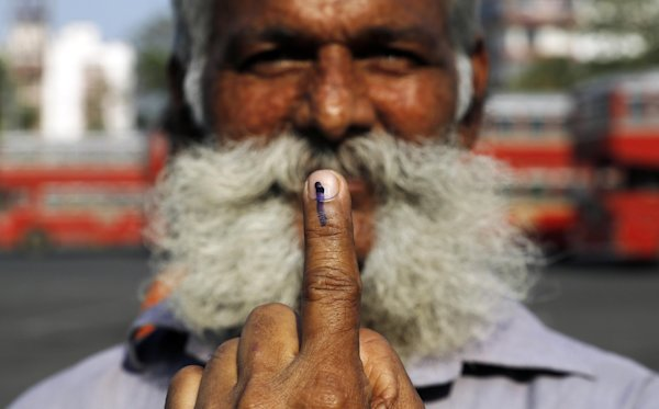 Rebels kill 7 after voting in Indian elections