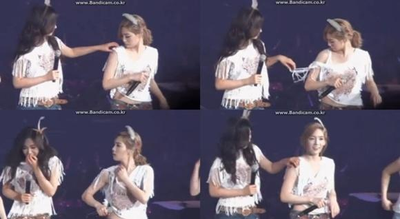 'Yuri stripping TaeYeon?' Yuri makes a funny mistake while trying to help out her teammate