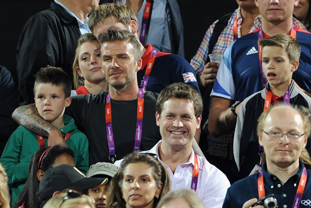 David Beckham, beach volleyball