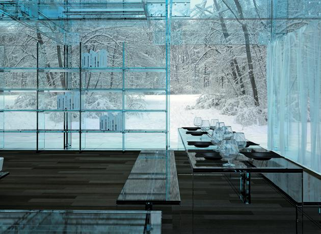 Glass House: la case transparente in armonia con la natura