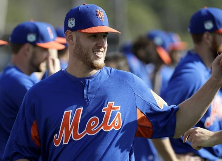 Mets right-hander pitcher Zack Wheeler is hoping to put his arm troubles behind him. (AP)