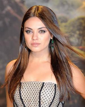 Mila Kunis close up shot at the 'Oz: The Great and Powerful' premiere in London -- Getty Images