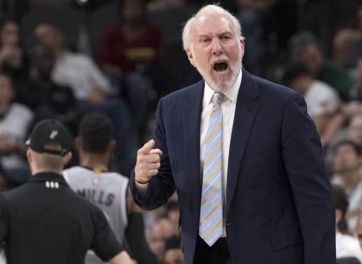 Gregg Popovich is understandably frustrated. (Associated Press)