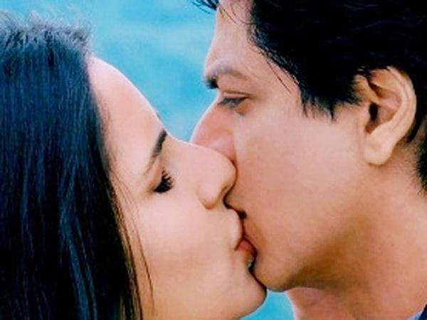 Image courtesy : iDiva.comShah Rukh Khan and Katrina Kaif: The kiss shared between Shah Rukh Khan and Katrina Kaif in the movie Jab Tak Hain Jaan is legendary because SRK broke his no-kissing rule and