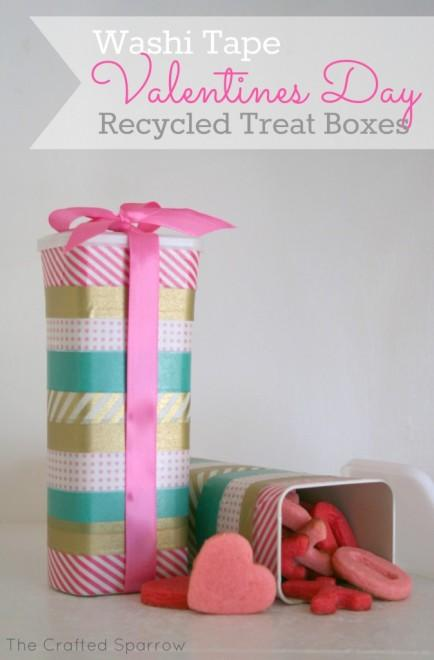 Recycled Treat Box