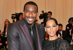 Amar'e Stoudemire and Alexis Welch | Photo Credits: Stephen Lovekin/FilmMagic