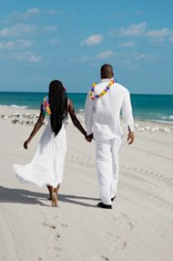 Beach wedding - Getty Images - CBS MoneyWatch.com