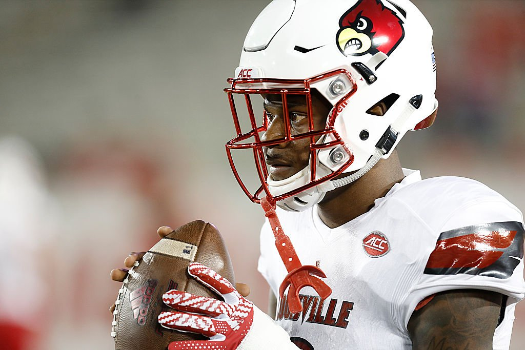 Louisville quarterback Lamar Jackson is a finalist for both the player of the year and top quarterback awards.