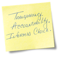 "Giving Up the ""One Leader in a Room"" Mindset image Transparency accountability informed choice"